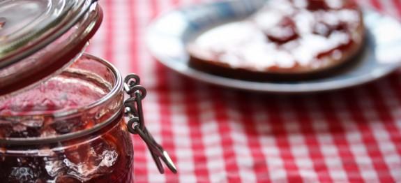 erdbeer rhabarber marmelade mit stevia rezept. Black Bedroom Furniture Sets. Home Design Ideas