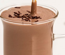 Schokoladen-Smoothie mit Stevia
