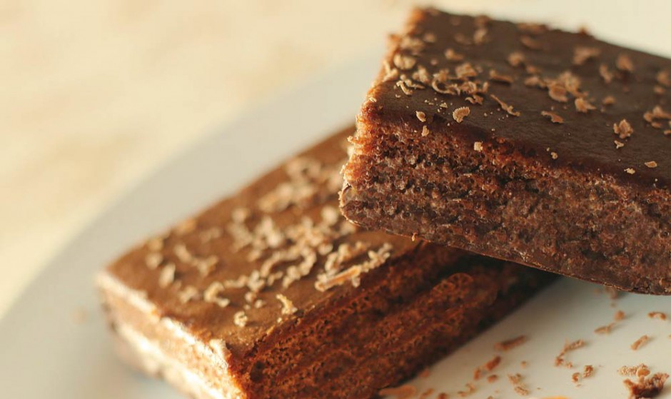 Schokoladenbrot mit Stevia