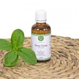Stevia flüssig eignet sich vor allem zum Süßen von Getränken