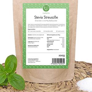 Stevia Granulat eignet sich ideal zum Backen