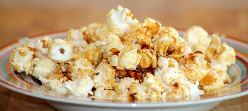 Popcorn mit Stevia